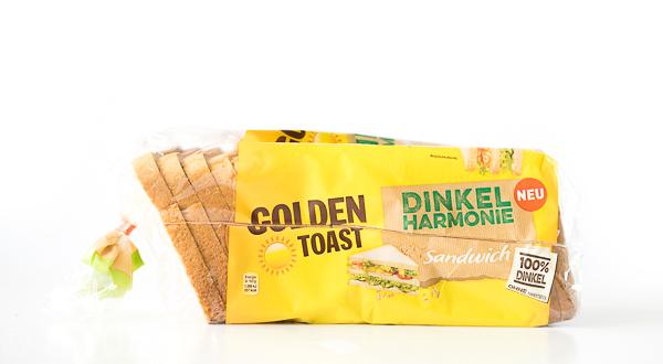 GOLDEN TOAST - Dinkelharmonie Sandwich