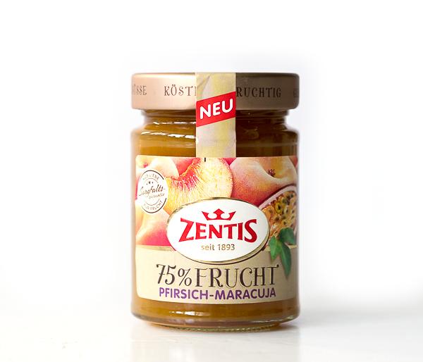 ZENTIS 75% FRUCHT - Pfirsich-Maracuja