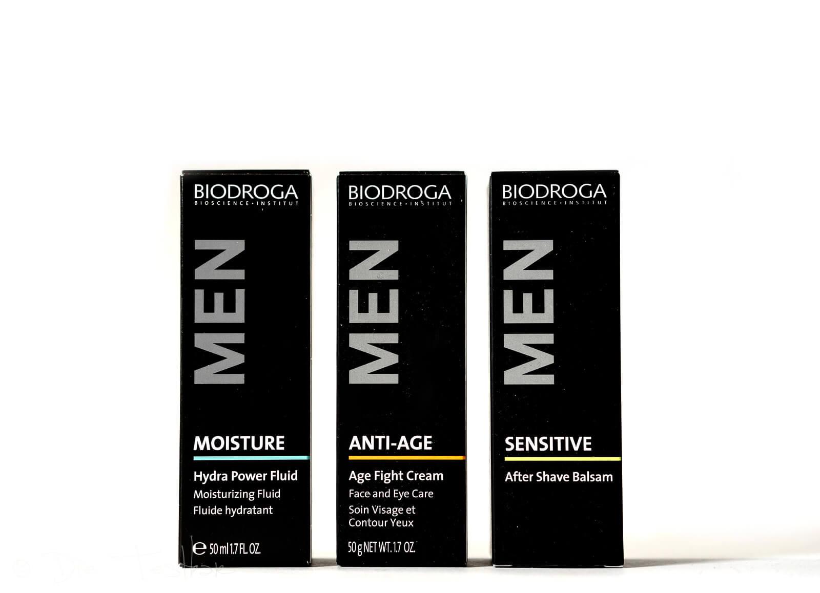 Biodroga Men - Das Geheimnis perfekt gepflegter Männerhaut