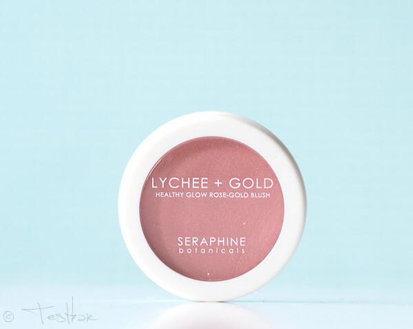 Seraphine Botanicals - Lychee + Gold Healthy Rose Blush