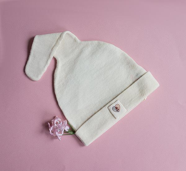 Merino Baby Mütze von Nurtured by Nature