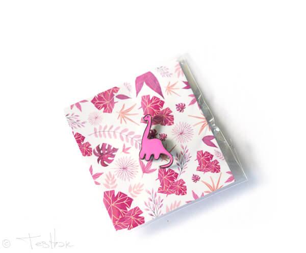 Pink Box -Dino Pins