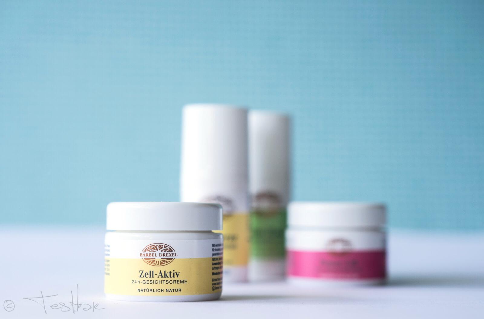 Zell-Aktiv 24 h-Gesichtscreme für trockene, empfindliche Haut von Bärbel Drexel