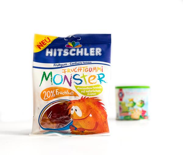 HITSCHLER - Monster Fruchtgummi süß & sauer