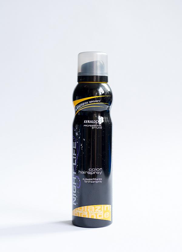 KERALOCK NIGHT LIFE - Color hairsprays