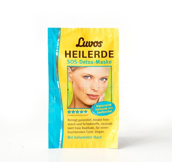 Luvos Heilerde -Luvos Naturkosmetik - SOS-Detox Maske