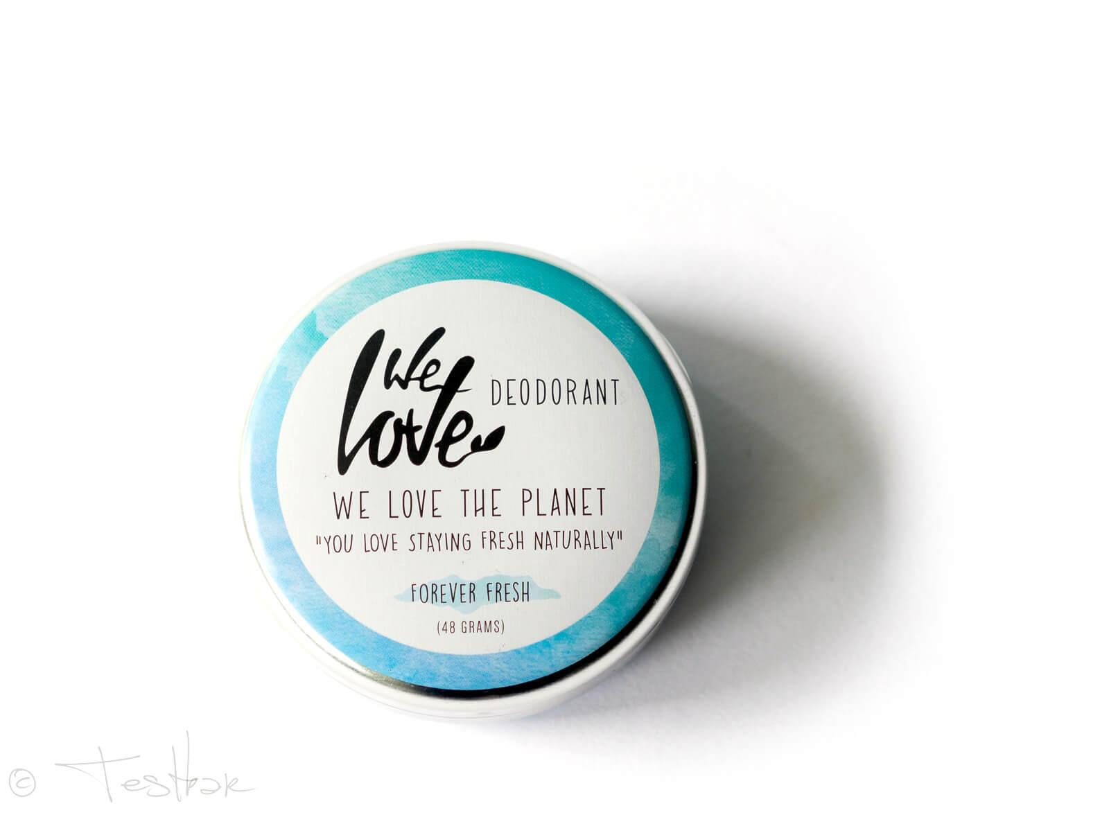 Natürliche Deocreme von We Love The Planet