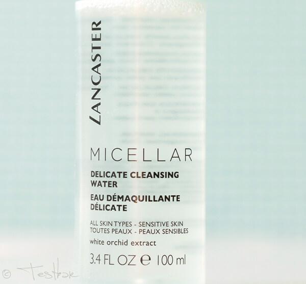 Micellar Water - Gesichtswasser von Lancaster