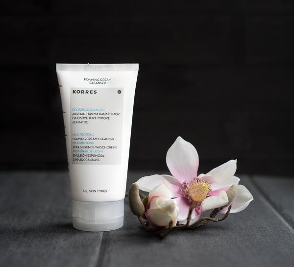 Korres - Milk Proteins foaming Cream Cleanser