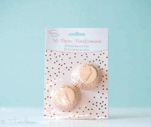 Städter GmbH - Papierbackförmchen Mini Caramell oder Chocolate