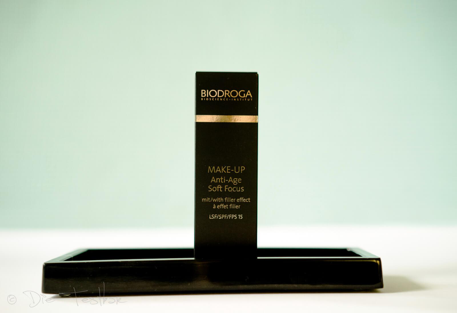 Soft Fokus Anti-Age Make-up mit Weichzeichner Effekt von Biodroga