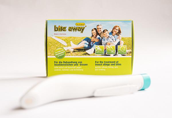 bite away - Der elektrische Stichheiler - Mückenstichen den Juckreiz nehmen