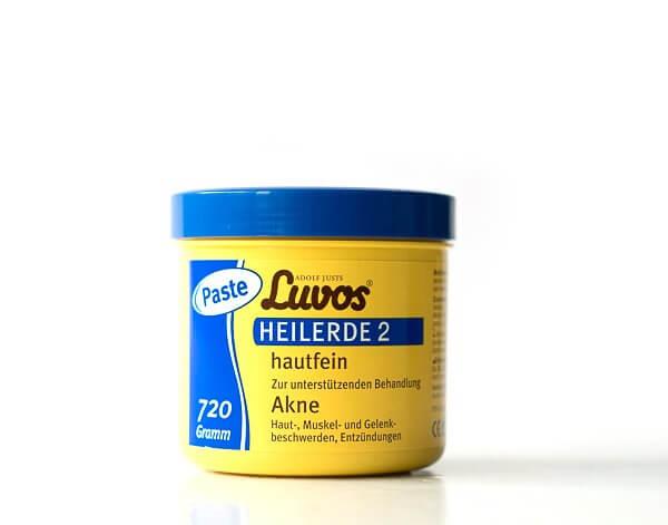 Luvos-Heilerde 2 hautfein - Paste bei Akne, Haut-, Muskel- und Gelenkbeschwerden sowie Entzündungen