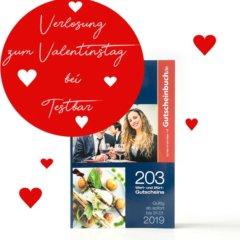 """DerValentinstag am 14. Februarsteht quasi vor der Tür und wir möchten Euch als Geschenktipp für Euren Liebsten oder Eure Liebste dasSchlemmerreise mitGutscheinbuch.de ans Herz legen. Mit diesem tollen Geschenk könnt Ihr Eurer Liebe einen besonderen Ausdruck verleihen und Euren Schatz mit romantischen Erlebnissen überraschen.Die """"Schlemmerreise mitGutscheinbuch.de"""" enthält hochwertige2für1- […]"""