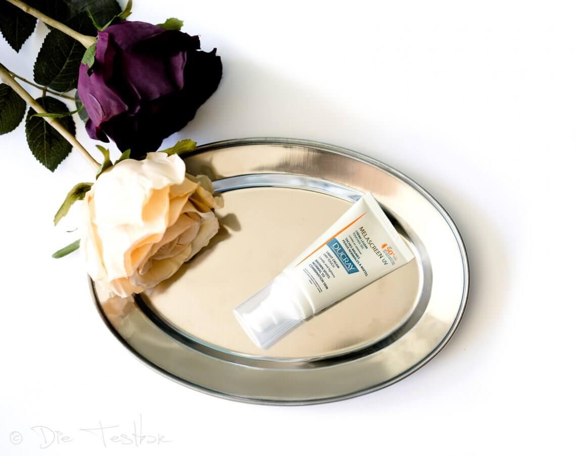 DUCRAY - Melascreen UV - Leichte Creme SPF50+ UVA - Wirksamer Lichtschutz vor braunen Flecken und gegen Photo-aging