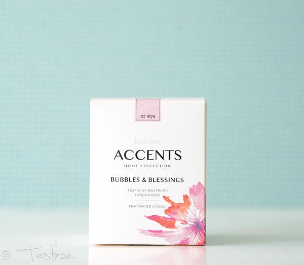 Accents gefülltes Duftglas