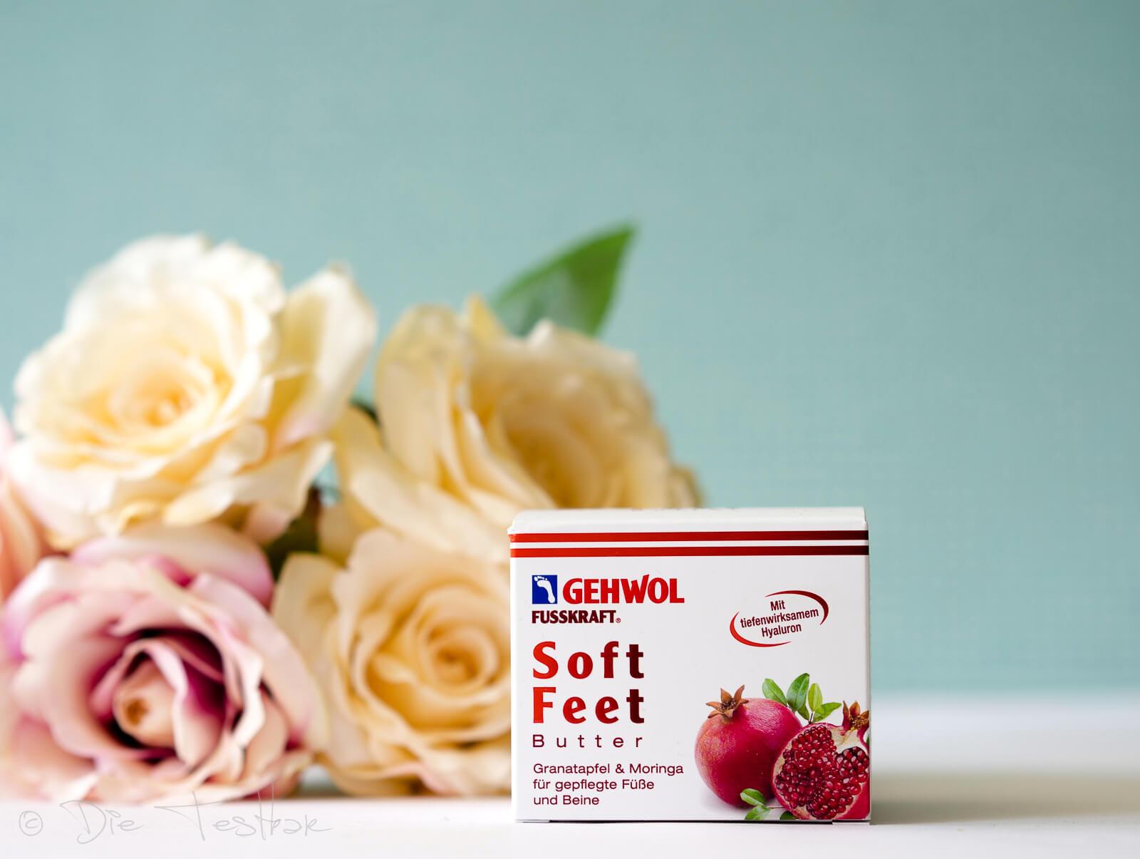GEHWOL FUSSKRAFT Soft Feet Butter - Granatapfel & Moringa