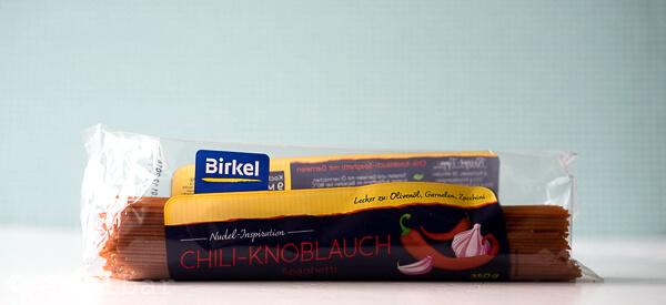 Birkel Nudel-Inspiration Chili-Knoblauch Spaghetti