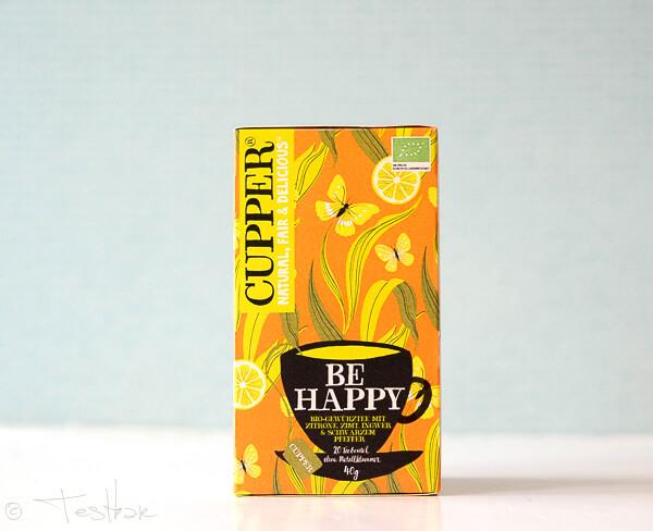 "CUPPER CUPPER - ""Be Happy"" Tee"
