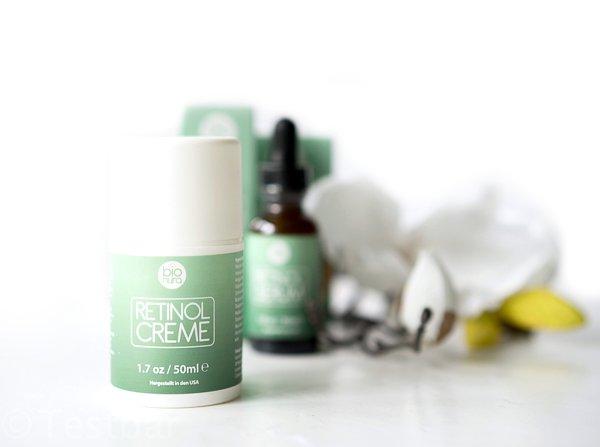Bionura Retinol Feuchtigkeitscreme Creme mit 2,5% Retinol, 15% Vitamin C & 5% Hyaluronsäure