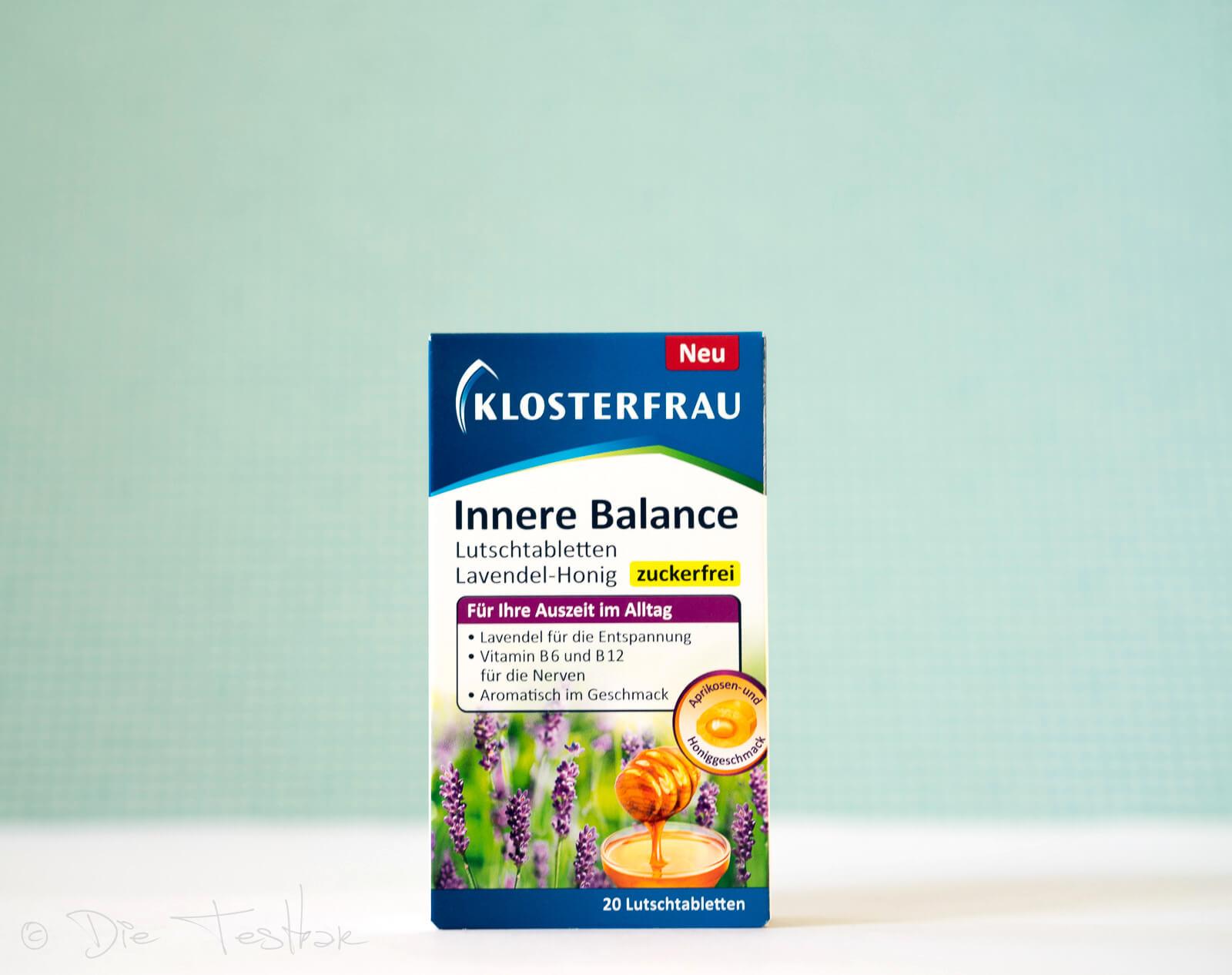 MCM Klosterfrau -MCM Klosterfrau - Innere Balance Lutschtabletten Lavendel-Honig