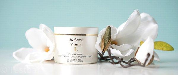 M Asam Vitamin E Körpercreme