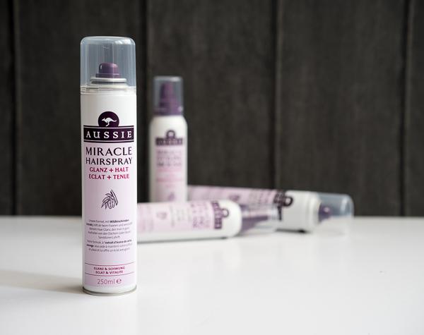 Aussie Miracle Hairspray Glanz + Halt