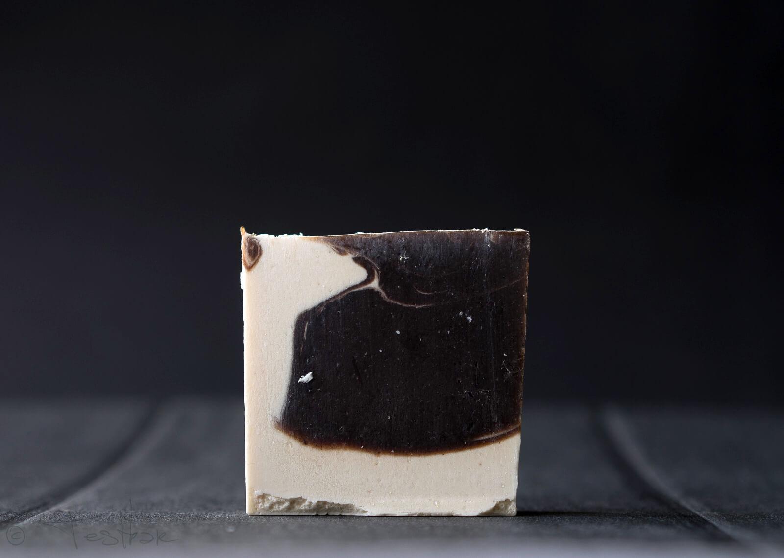 Naturseife Cocos mit echter Schokolade - Handseife vegan - Natürlich basische Seife