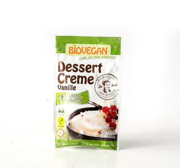 BIOVEGAN -Dessert Creme Schoko, Vanille & Kokos