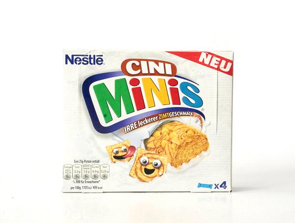 NESTLÉ CINI MINIS -Cerealien-Riegel