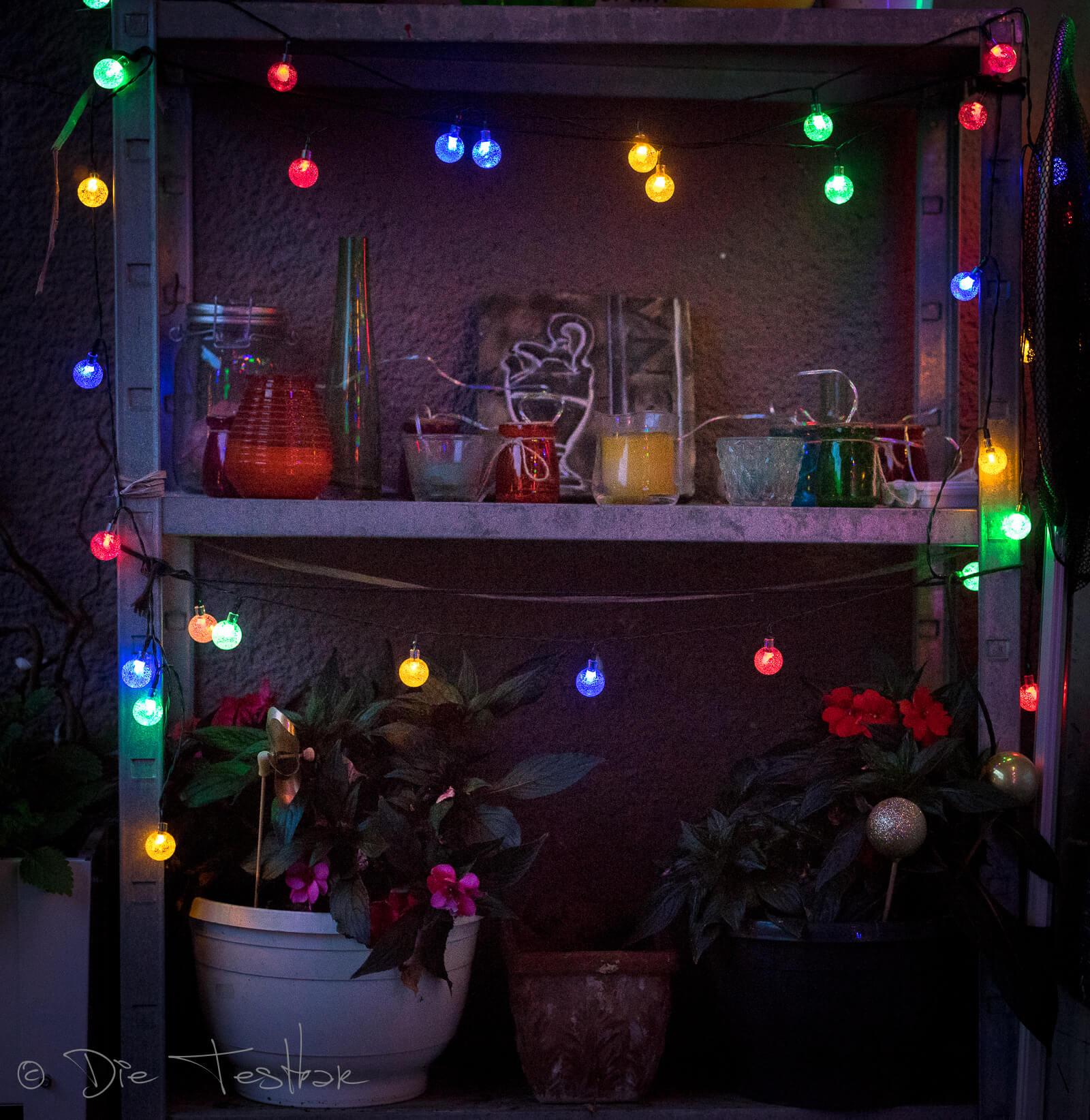 Balkongestaltung - Zauberhafte Outdoor-Beleuchtung von lights4fun