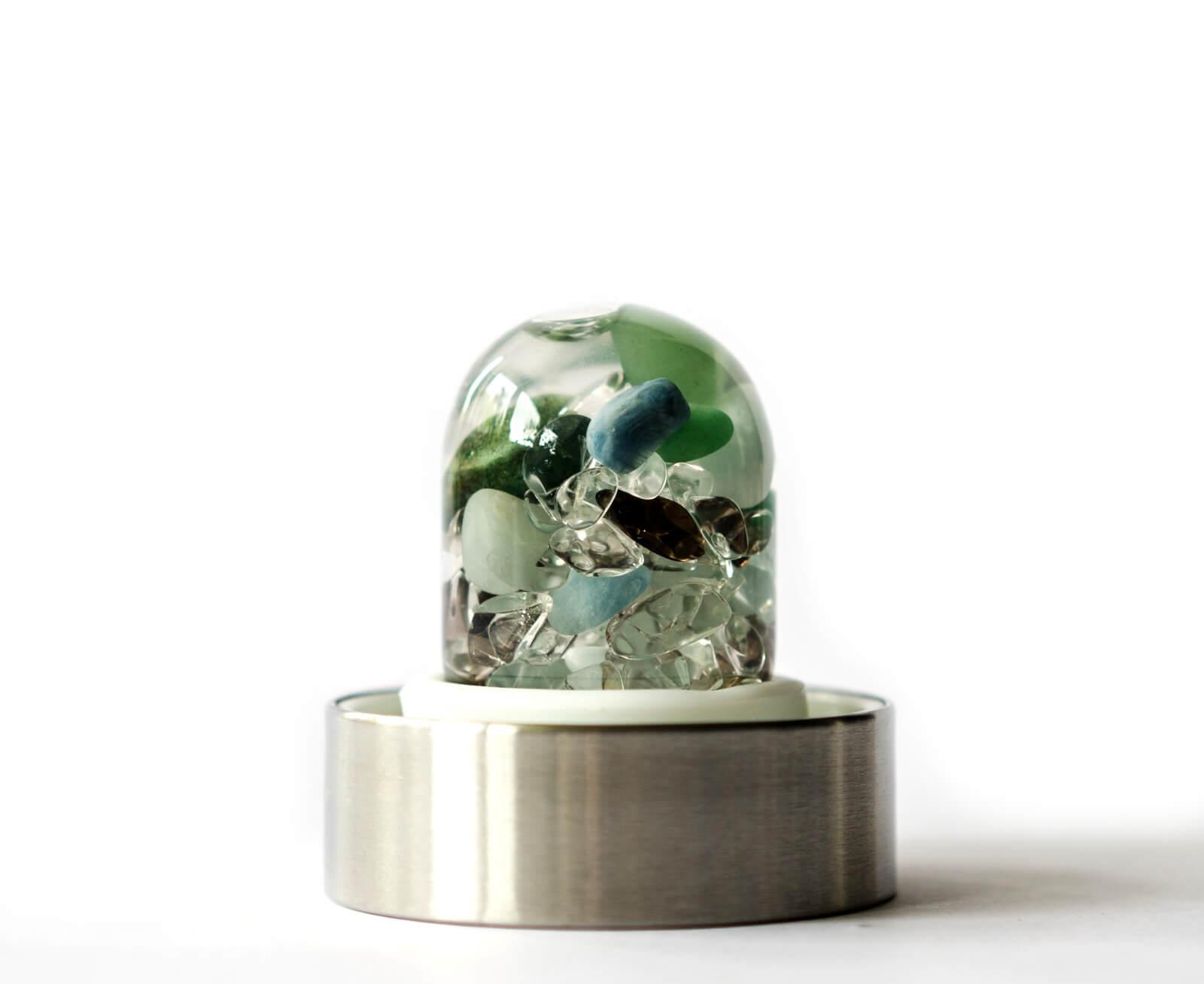VIA FOREVER YOUNG Aquamarin - Aventurin - Rauchquarz - Bergkristall