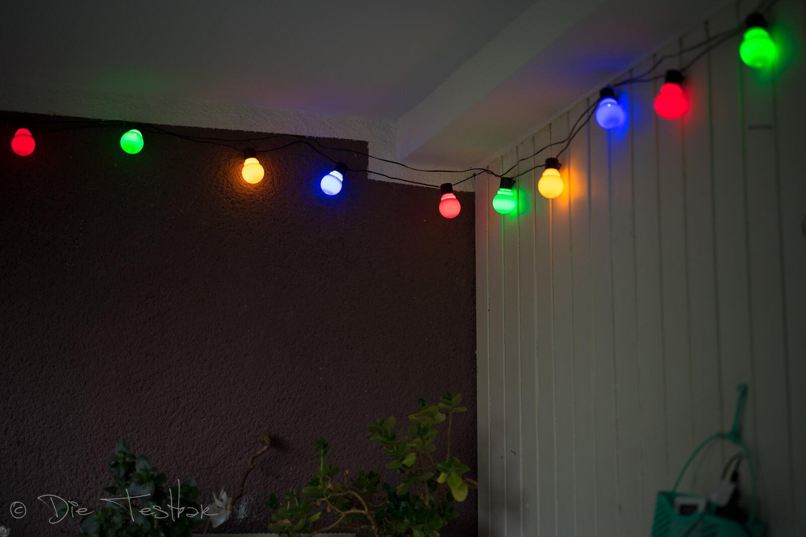 Zauberhafte Balkonbeleuchtung mit lights4fun