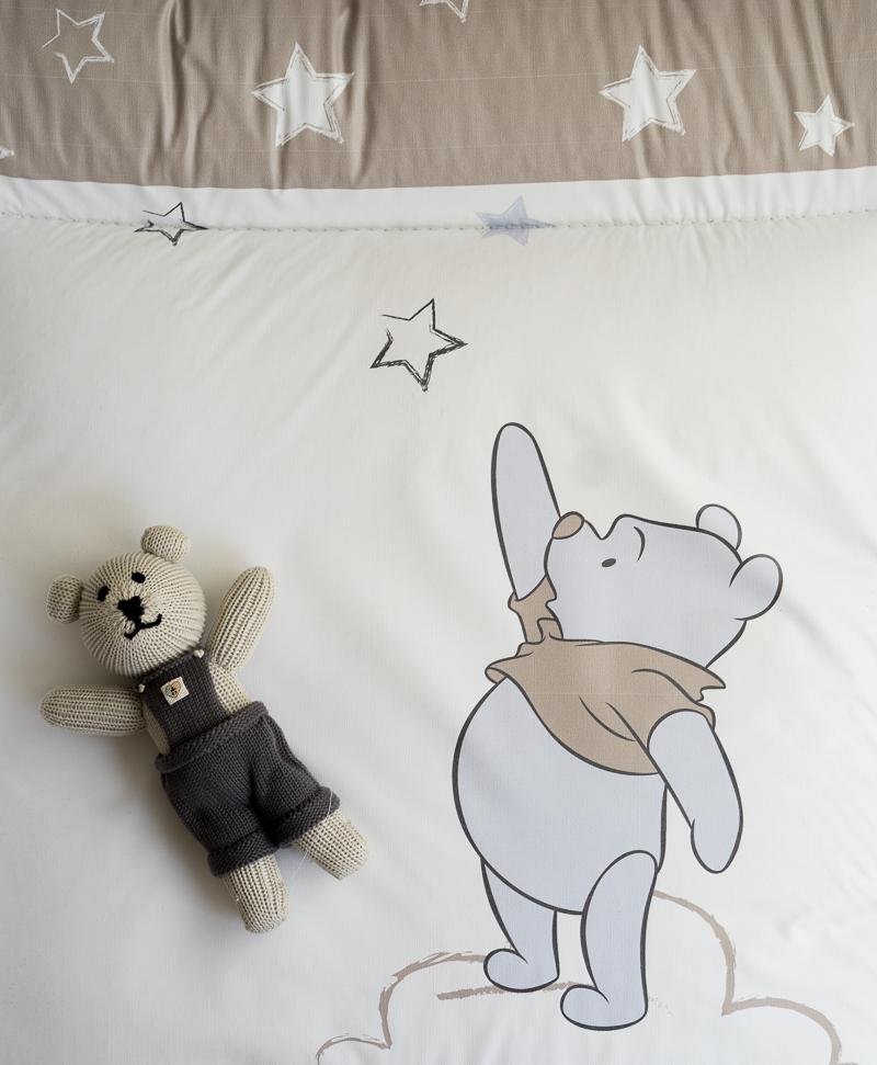 Wickelauflage - Pooh mein Stern