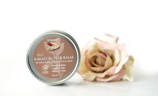 Bio-Kakaobutter-Balm in Blechdose