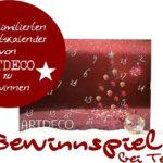 Gewinnspiel – Limitierte Adventskalender von Artdeco zu gewinnen >>>>closed<<<<
