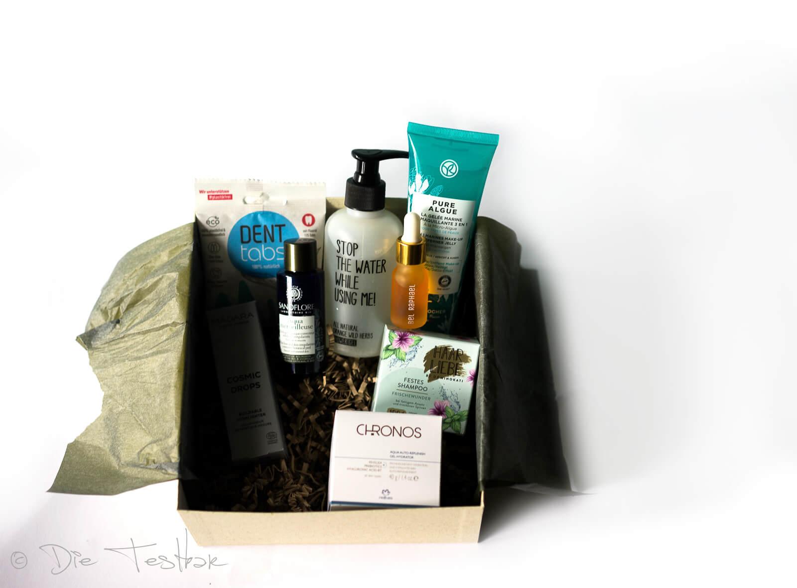 beautylove – The Natural Box im Juli 2021 - Sea Goddess