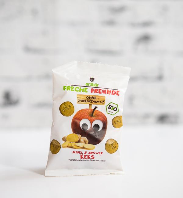 FRECHE FREUNDE - Apfel & Ingwer Keks