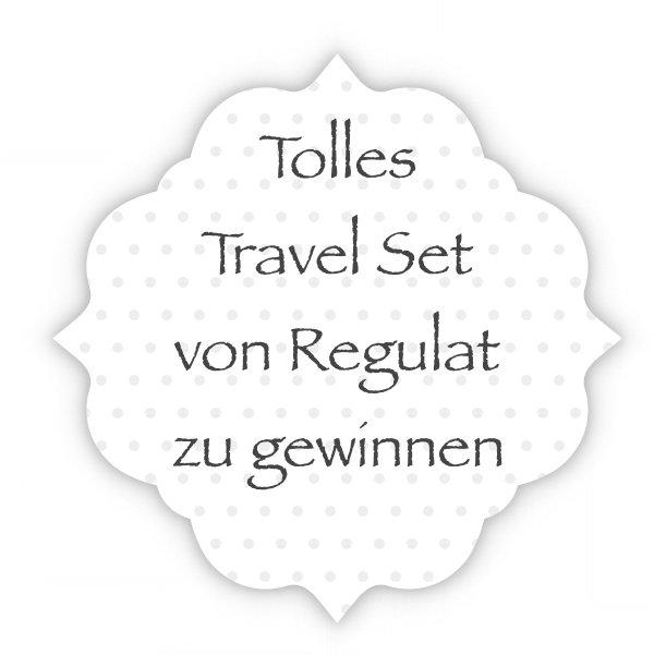 Gewinnspiel - Travel Set von Regulat zu gewinnen