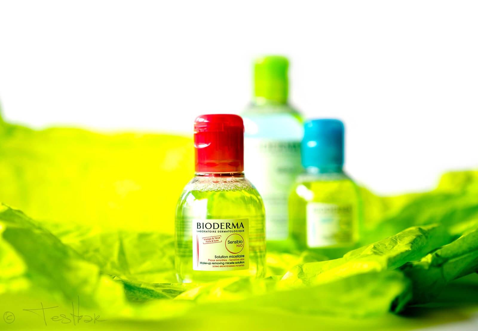 Sensibio H2O Milde Reinigungslösung. Kühlend und abschwellend