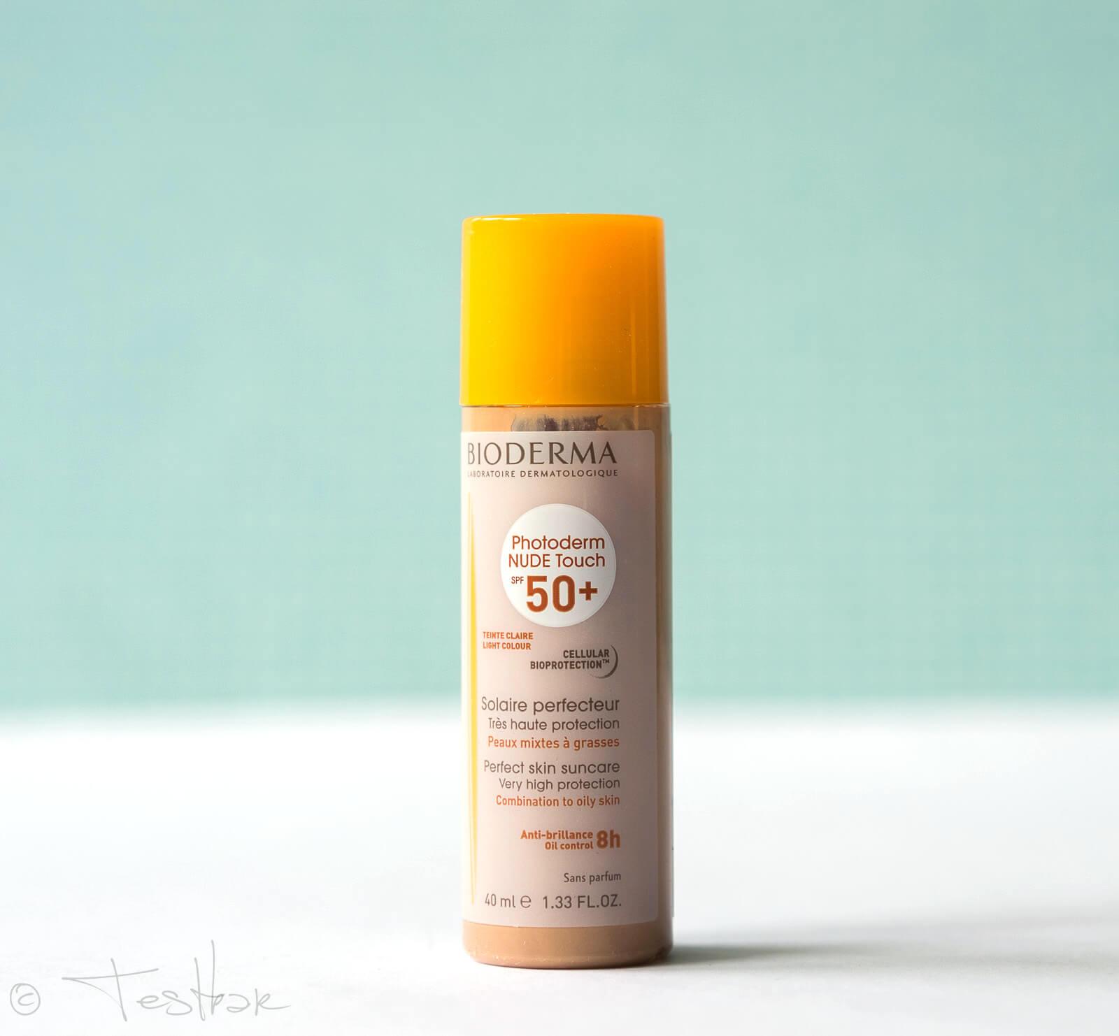 NEU - Mineralisches Sonnenschutz Make-up mit 8h Matt-Effekt - Photoderm NUDE Touch SPF 50+
