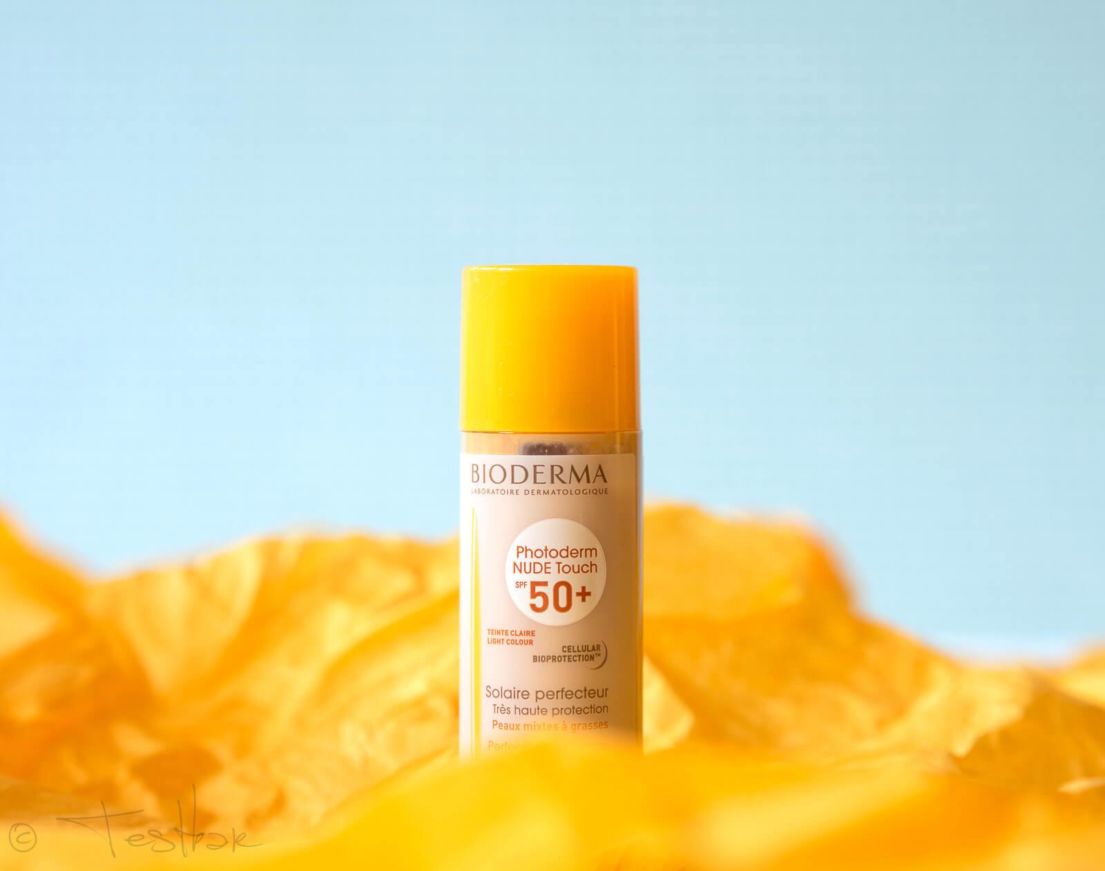 NEU - Mineralisches Sonnenschutz Make-up mit 8h Matt-Effekt - Photoderm NUDE Touch SPF 50+ von Bioderma