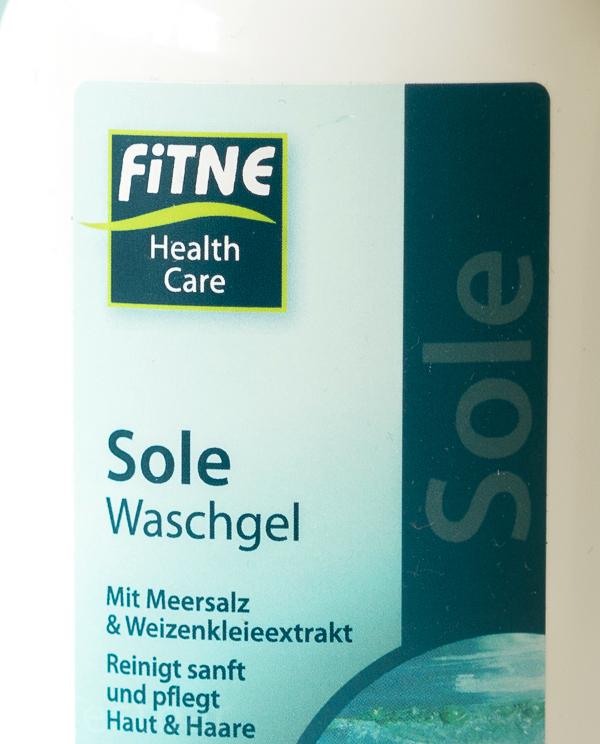Sole Waschgel von Fitne