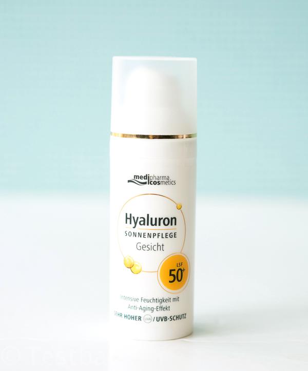 Hyaluron Sonnenpflege Gesicht LSF 50+