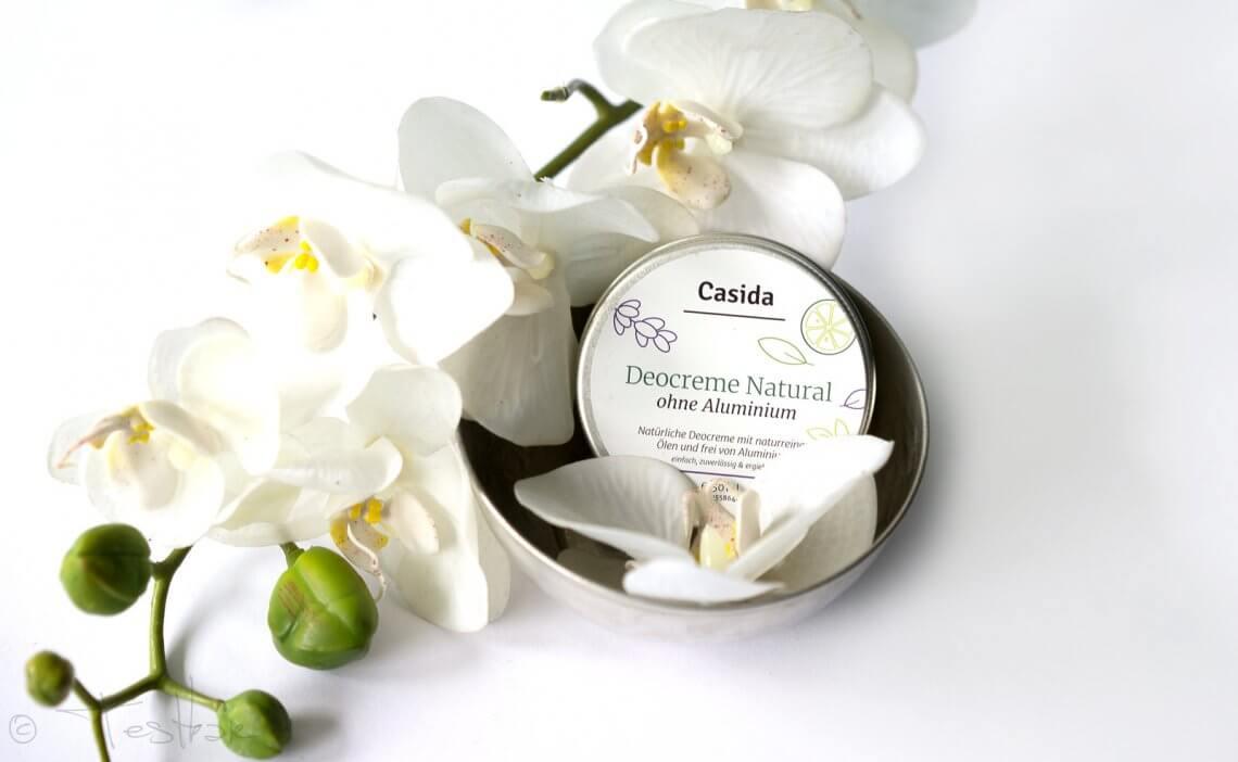 Deocreme Natural ohne Aluminium von Casida