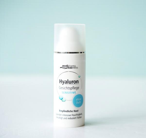 Hyaluron Gesichtspflege Sensitive von medipharma cosmetics