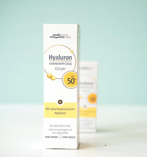 Hyaluron Sonnenpflege Körper LSF 50+