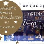 Gewinnspiel – Limitierte Beauty Adventskalender von Artdeco zu gewinnen