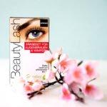 Wimpern und Augenbrauen färben mit dem BeautyLash Sensitive Färbeset