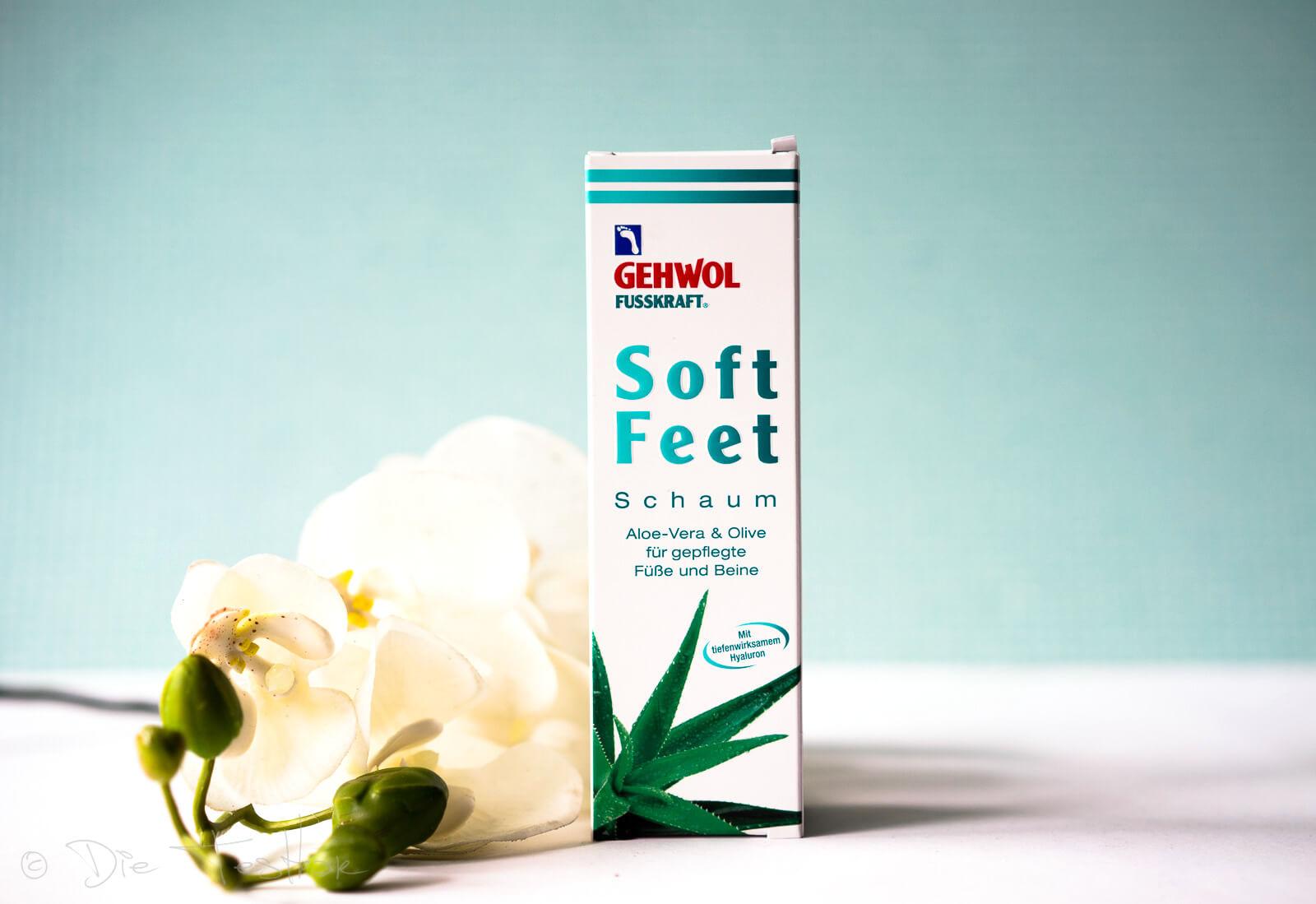 GEHWOL FUSSKRAFT - Soft Feet Schaum